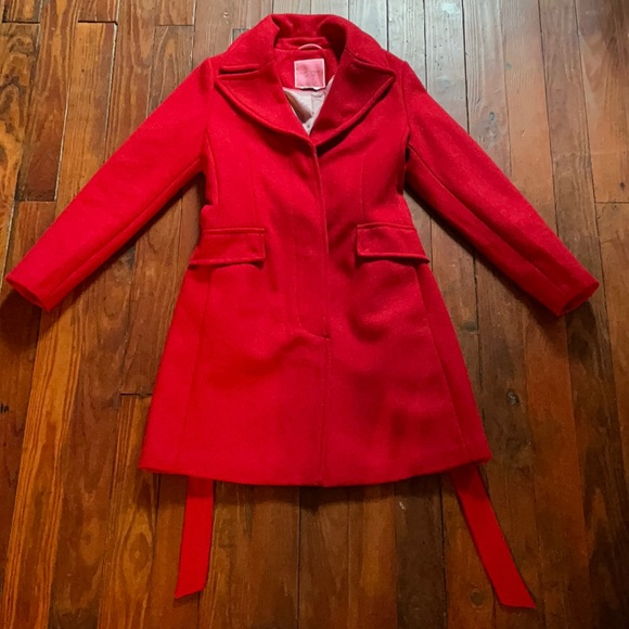 kate spade new york belted wrap coat